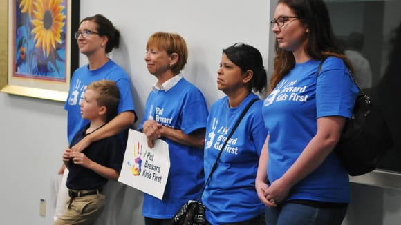After hearing several speakers at Tuesday's meeting from both sides of the issue, a tax referendum for the Children's Services Council will not appear on the November ballot when a majority of Brevard County Commissioners did not support it.