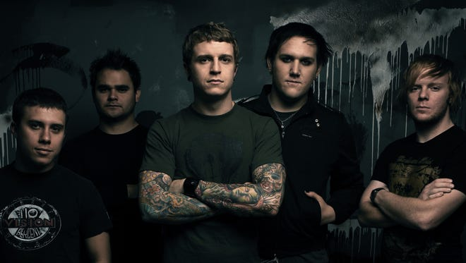 Metal band Atreyu is set to perform at Downtown's Tricky Falls on March 18.