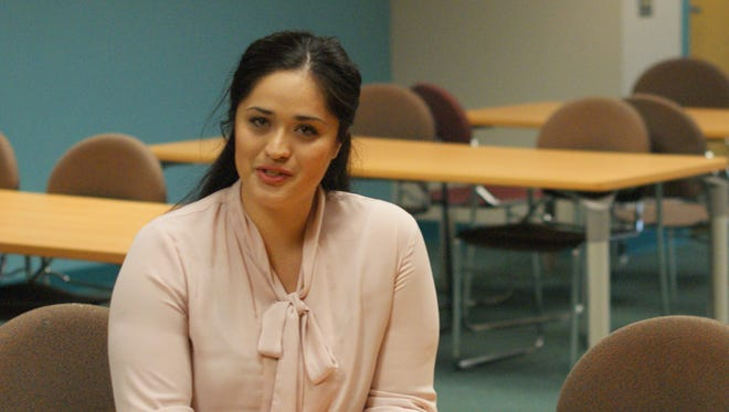 """""""We are working with human beings, not a machine or software,"""" said social work instructor Magali Gomez."""