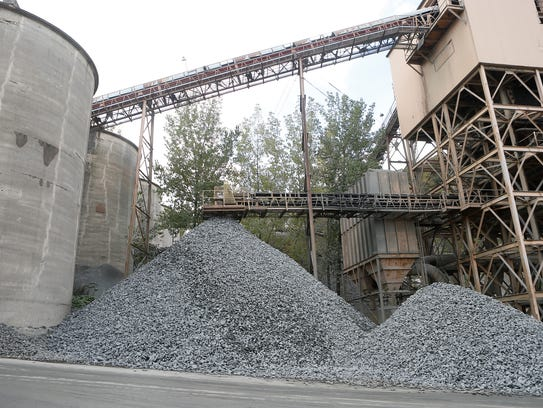 Tilcon's mining operations in Haverstraw