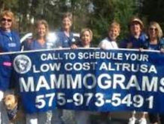 altrusa mammograms