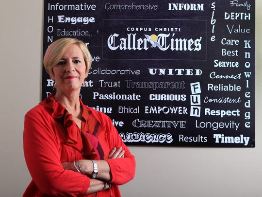 Corpus Christi Caller-Times president Libby Averyt ended a 30-year career at the newspaper Friday. In addition to serving as president of the Caller-Times, her role included overseeing Gannett's news operations in Abilene, San Angelo and Wichita Falls.