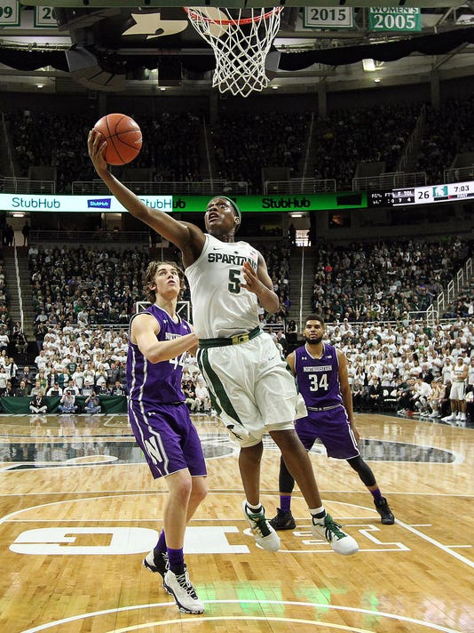 NCAA Basketball: Northwestern at Michigan State