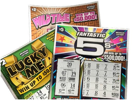 Michigan Lottery tickets