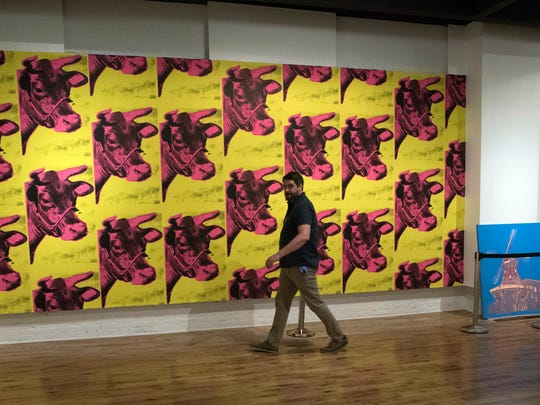 The Pensacola Museum of Art prepares June 27 for a show featuring works of Andy Warhol.