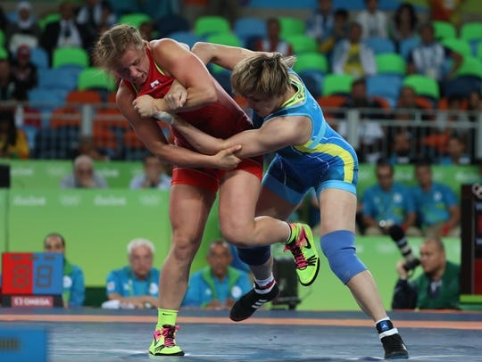The women's freestyle finals in the Rio 2016 Summer
