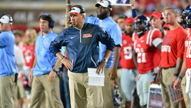 Ole Miss coach Hugh Freeze announced defensive graduate assistant Christian Robinson will handle middle linebackers from this point forward.
