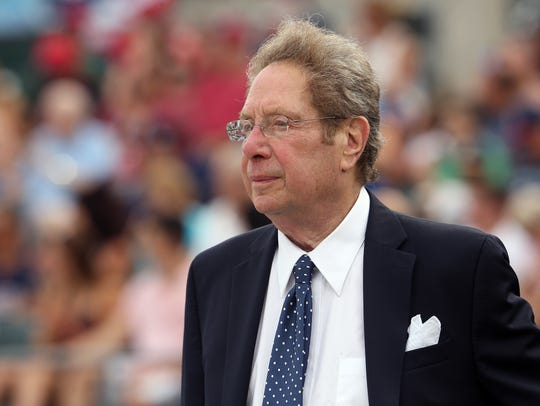 Voice of the Yankees, John Sterling before the game
