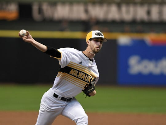 UW-Milwaukee pitcher and Stevens Point native Austin Schulfer placed himself on the radar of MLB scouts with a breakout season for the Panthers as a senior. He went 6-5 with a 2.96 ERA in 14 starts.