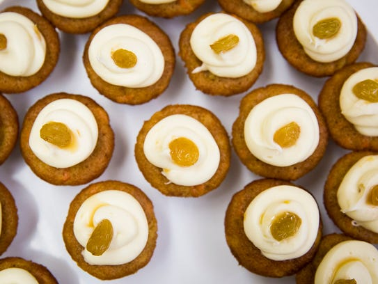 Laura Turvey, creator of Tipsy Turvey's PubCakes, bakes