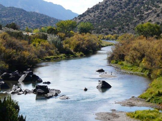 The Rio Grade del Norte National Monument in New Mexico.