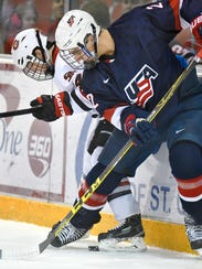 St. Cloud State's Ben Storm and USA Under-18 National