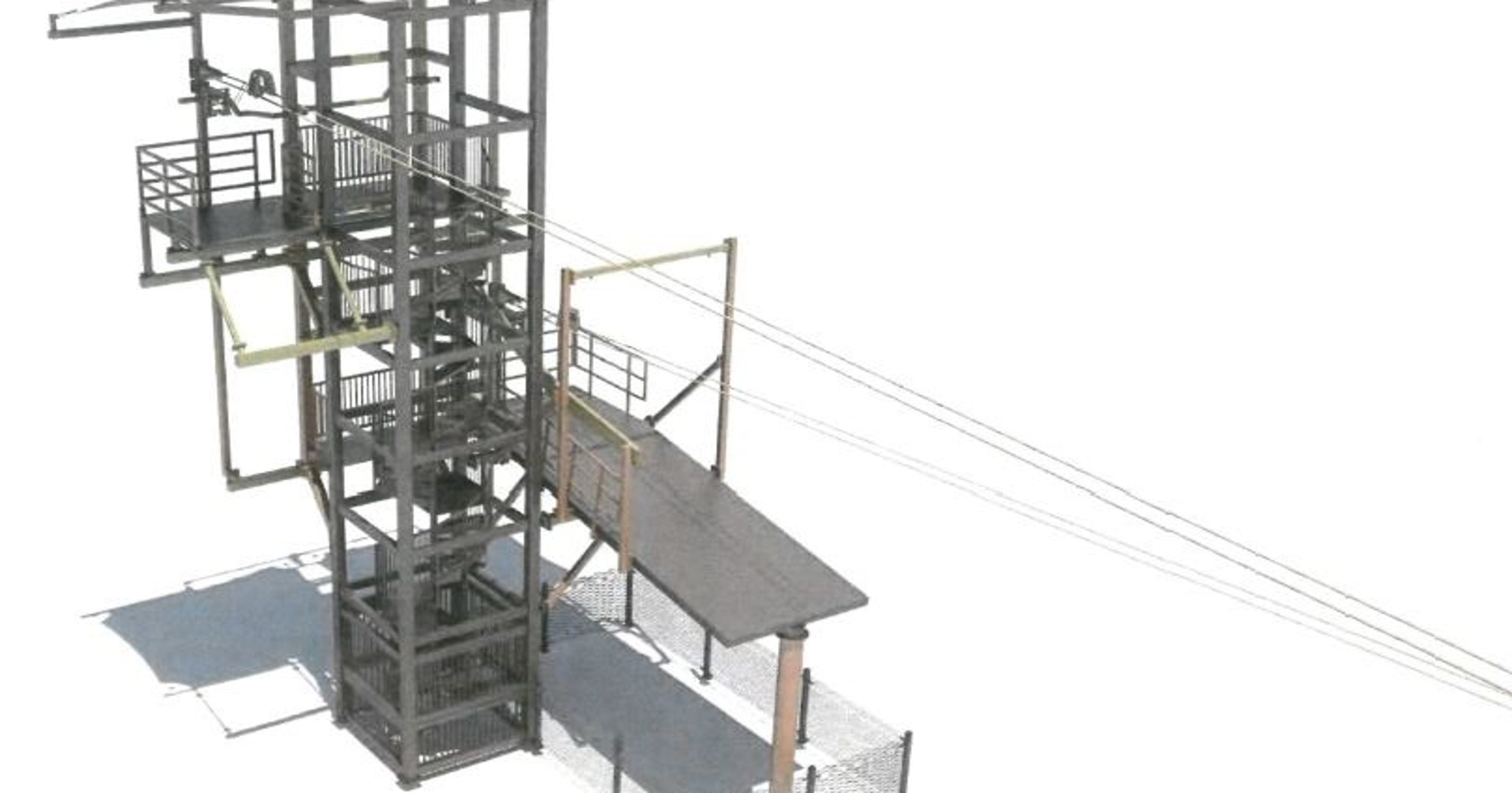 $1.7M zip line course in Lansing put on hold