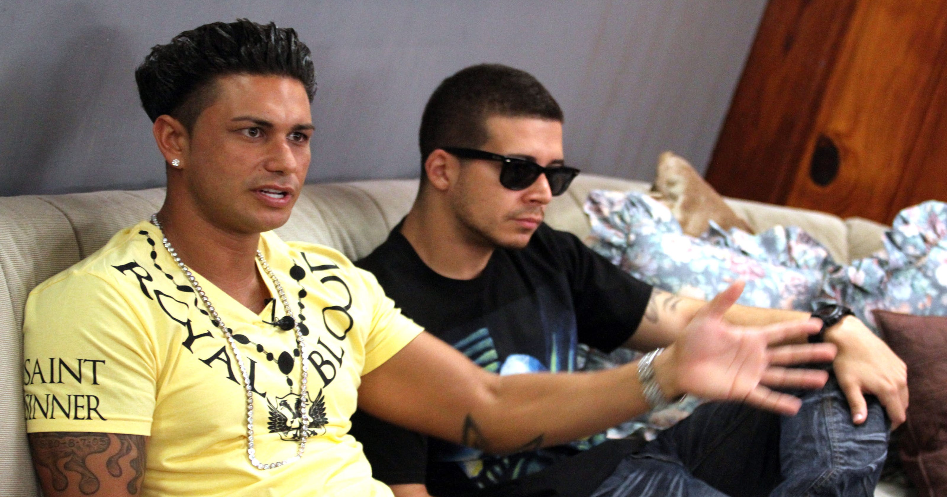 Jersey Shore Stars Pauly D And Vinny Take Double Shot At Love On MTV