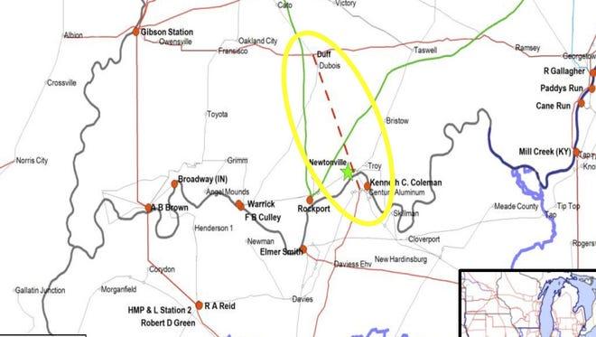Transmission map