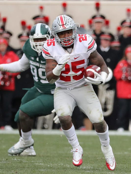 Image result for mike weber ohio state