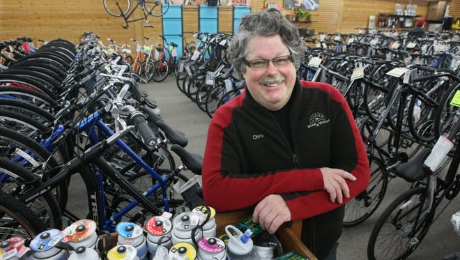 Chris Kegel has been a tireless advocate for bicycling in Wisconsin and the United States.