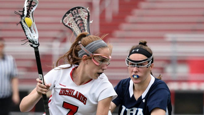 Julia Bradbury (7) of Northern Highlands continues to be one of the most prolific scorers in Bergen County.