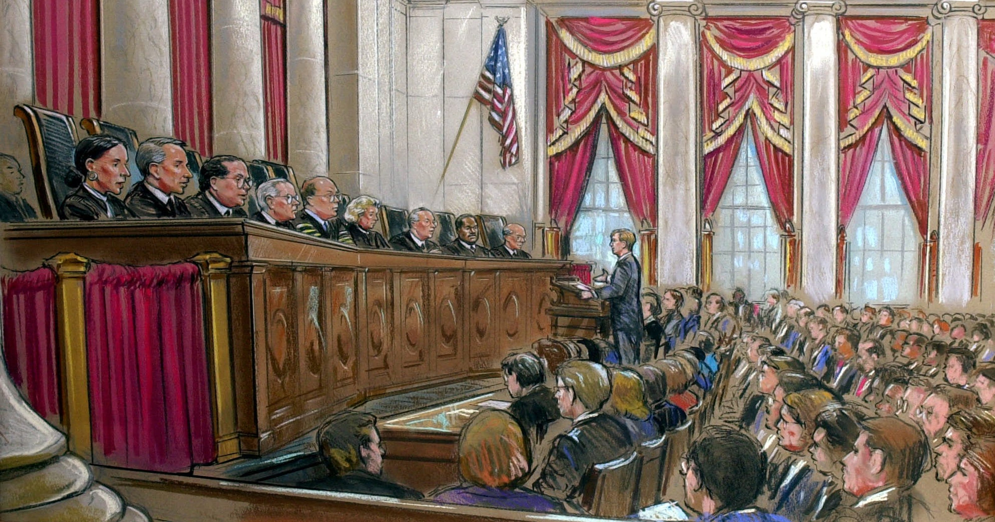 how a case gets to the supreme court