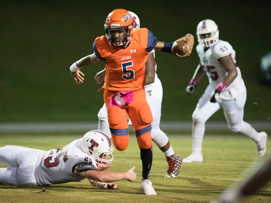 Tate Vs. Escambia Football