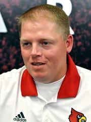 Quarterbacks coach Nick Petrino.