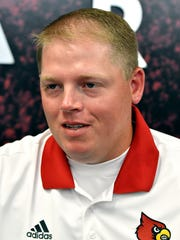 Quarterbacks coach Nick Petrino.