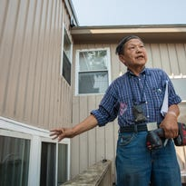 Burlington landlord Soon Kwon appears in Chittenden Superior Court in December to answer allegations that he improperly withheld  tenants' security deposits.