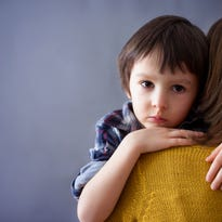 Help your children get through traumas by talking about it.