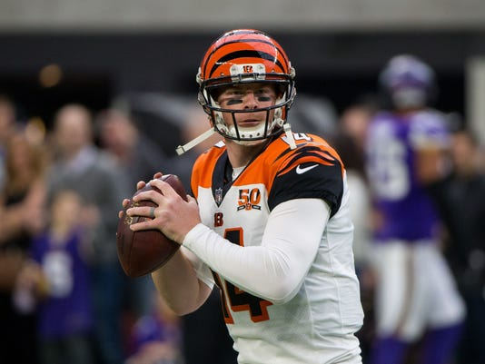 NFL: Cincinnati Bengals at Minnesota Vikings