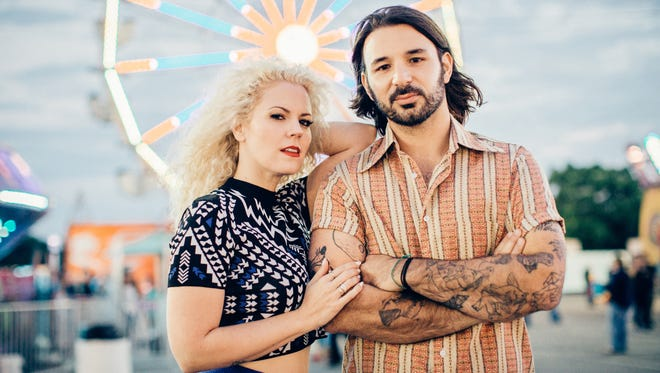Smooth Hound Smith is Caitlin Doyle, left, and Zack Doyle, an Americana/roots band out of Nashville, Tenn. The band recently snagged an opening gig with the Dixie Chicks on their summer tour