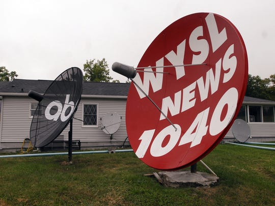 WYSL-AM, the radio station in Avon where Bill Nojay had a daily talk show. (2007 photo)
