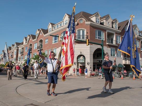 Plymouth's annual Memorial Day Parade kicks off at