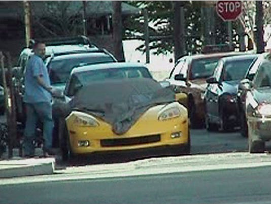 LEAD yellow car