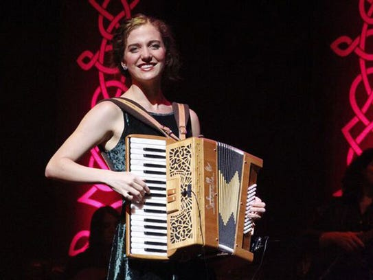"""Samantha Harvey performs in """"A Celtic Christmas."""""""