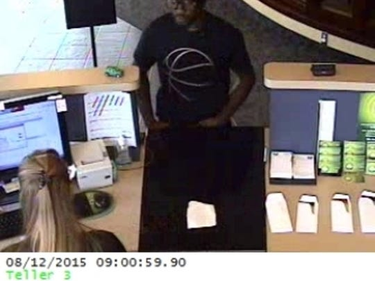 Police say that Brian Randolph robbed a Credit Union in South Lyon on August 12.