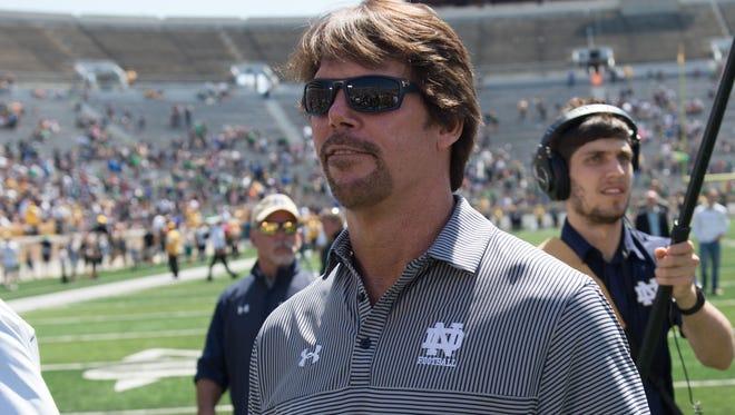 Former Notre Dame defensive coordinator Brian VanGorder is the new defensive coordinator for Louisville.