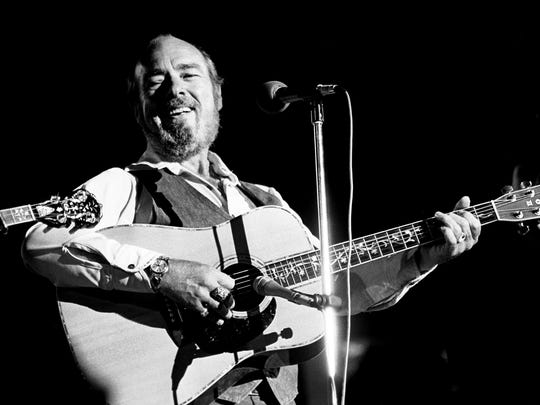 Mac Wiseman performs during a three-hour bluegrass show as part of Fan Fair at the Municipal Auditorium on June 6, 1979.