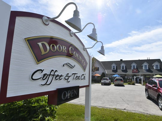 Door County Coffee & Tea Co., 5773 State 42, is located