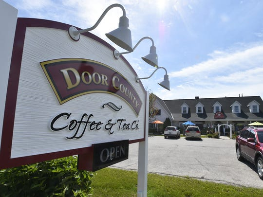 Door County Coffee & Tea Co., 5773 State 42, is located north of Sturgeon Bay inside The Carlsville Marketplace mall in Carlsville.