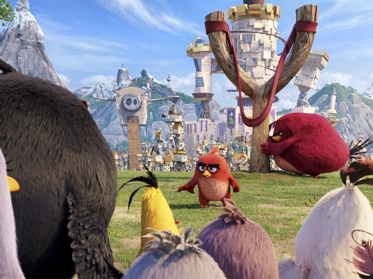"""Angry Birds"" brings the game to the big screen."