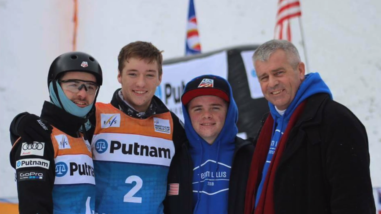 Freestyle skier Jon Lillis won't be alone at the Olympics. He will carry the spirit of his younger brother and a pendant holding Mikey's ashes.
