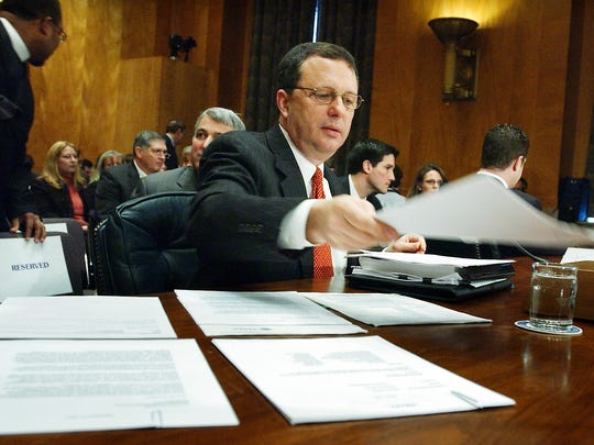In this Friday 2006 photo, former FEMA Director Michael