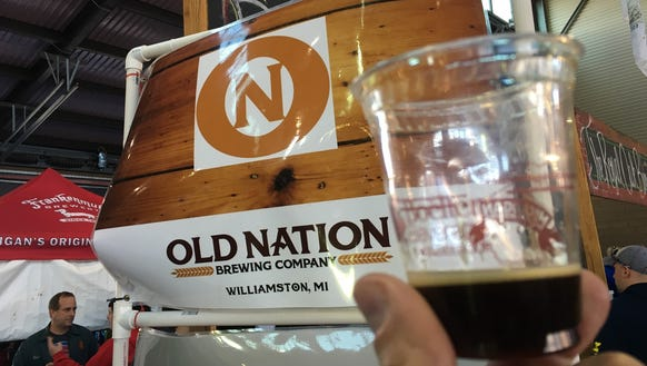 Old Nation's Bumpy Cake Ale is released at the Williamston