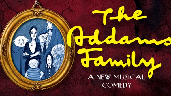 The Addams Family musical will be playing from Feb.16-March 4 at the Fallon Theater.