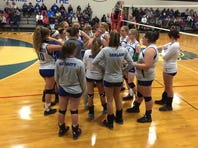 The McConnellsburg girls volleyball team punched its ticket to the District 5 1A semifinal with a 3-0 win over Windber. Check out highlights here