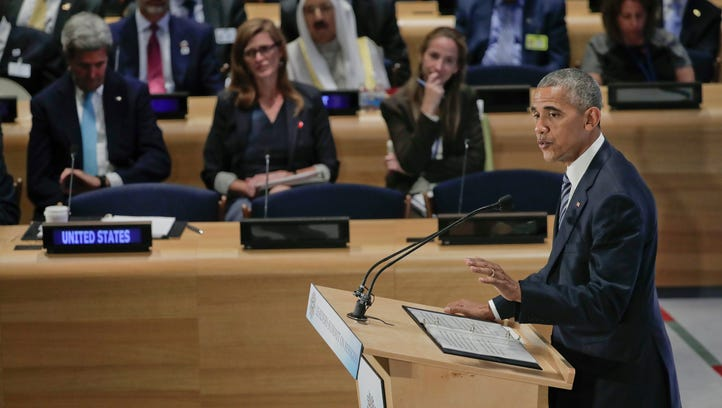 Obama calls on world leaders to do more to help refugees