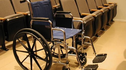 For Medicare to pay for in-home care, you must need a wheelchair, walker or other device.
