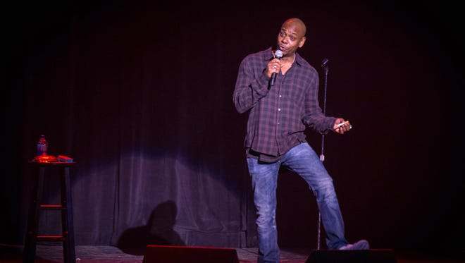 Dave Chappelle, shown during his residency at the Pabst Theater in 2016, returns to the venue for four shows March 10 and 11.