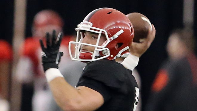 If Rutgers quarterback Chris Laviano is going to retain his starting job, he will have to do it in August training camp.