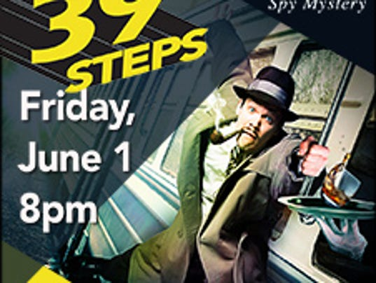 39 Steps at the Spencer